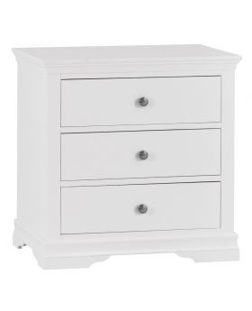 Kettle SW Bedroom White 3 Drawer Chest