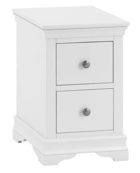 Kettle SW Bedroom White Bedside Cabinet