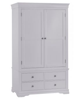 Kettle SW Bedroom Grey 2 Door Wardrobe