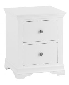 Kettle SW Bedroom White Large Bedside Cabinet