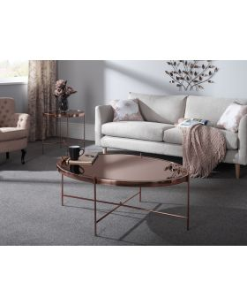 Serene Taurus Rose Gold Coffee Table
