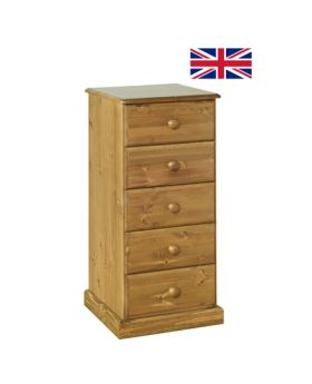 Devonshire Torridge 5 Drawer Bedside