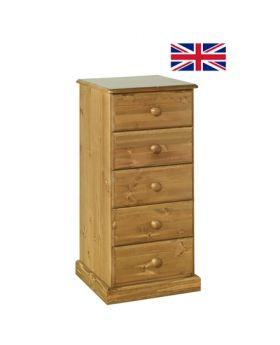 Devonshire Torridge 5 Drawer Bedside