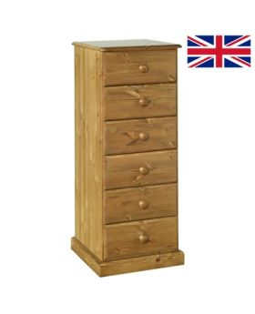 Devonshire Torridge 6 Drawer Bedside