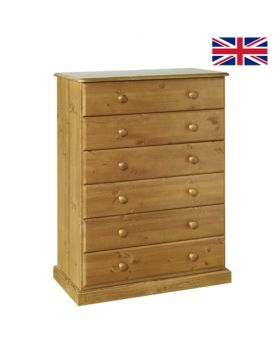 Devonshire Torridge 6 Drawer Chest