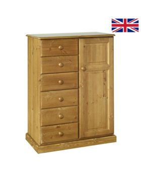 Devonshire Torridge 6 Drawer Tall Boy
