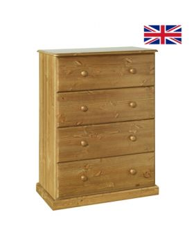 Devonshire Torridge 4 Drawer Deep Chest