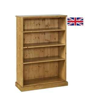 "Devonshire Torridge 4' Bookcase 12"" Deep"