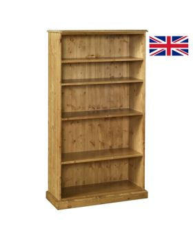 "Devonshire Torridge 5' Bookcase 12"" Deep"