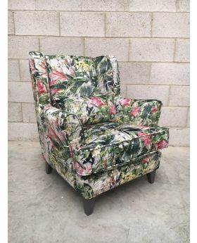 Furnico Tropical Accent Chair