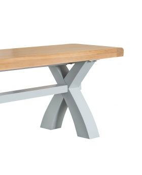 Kettle TT Dining Grey Large Cross Bench