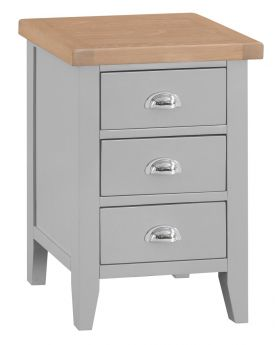 Kettle TT Bedroom Grey Large Bedside Table