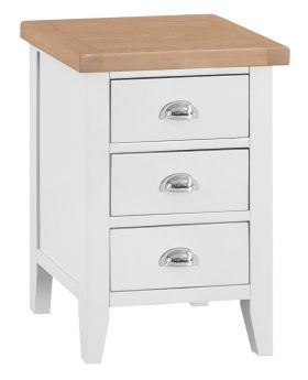 Kettle TT Bedroom White Large Bedside Table