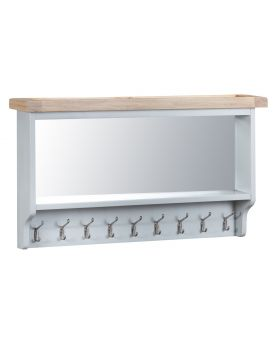 Kettle TT Dining Grey Coat Rack with Mirror