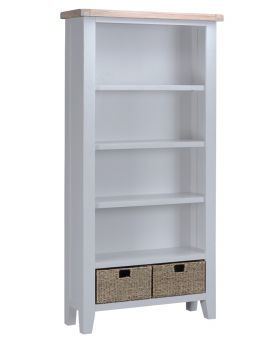 Kettle TT Dining Grey Large Bookcase