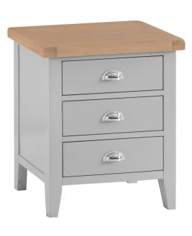 Kettle TT Bedroom Grey Extra Large Bedside Table