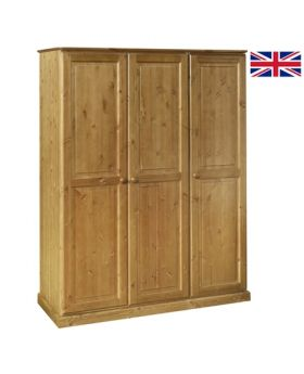 Devonshire Torridge Ladies Triple Wardrobe