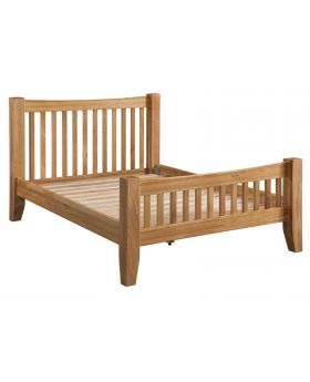 Classic Furniture Colorado Oak 4'6 Bed