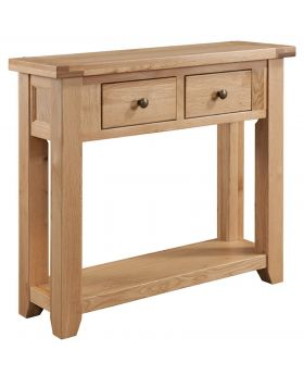 Classic Furniture Colorado Oak Console Table