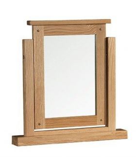 Classic Furniture Colorado Oak Dressing Table Mirror