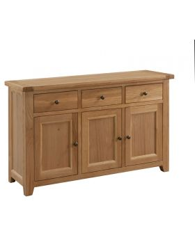 Classic Furniture Colorado Oak Large Sideboard