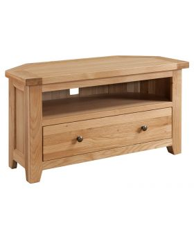Classic Furniture Colorado Oak Corner TV Unit