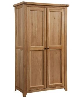 Classic Furniture Colorado Oak 2 Door Wardrobe