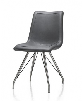 Habufa Daimon Dining Chair in Anthracite