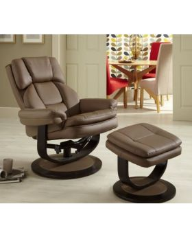 Serene Vardo Leather Recliner Chair