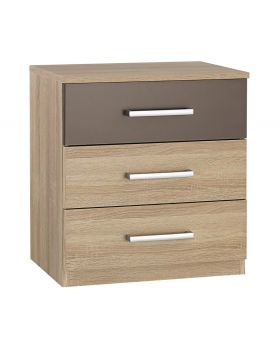 Rauch Venlo 3 Drawer Bedside Chest