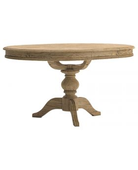 Classic Versailles Round Extending Dining Table