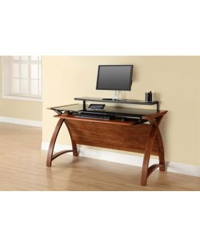 Jual PC201 1300 Walnut Computer Desk