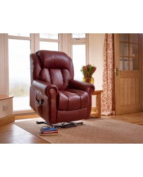 GFA Wiltshire Leather Riser Recliner Chair