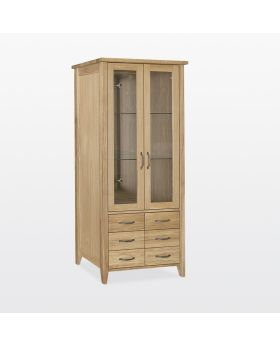 TCH Windsor Dining Bookcase 6 Drawers