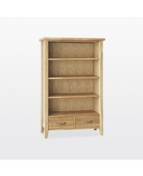 TCH Windsor Dining Bookcase 2 Drawers