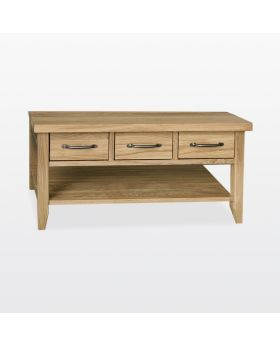TCH Windsor Dining Coffee Table 3 Drawers