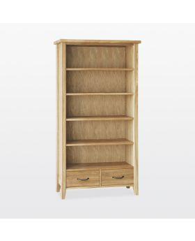 TCH Windsor Dining Tall Bookcase 2 Drawers