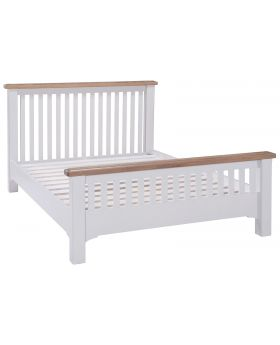 Classic Georgia Painted 4'6 Double Bed Frame