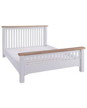 Classic Furniture Alders painted 5'0 Kingsize bedframe