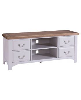 Classic Furniture Alders painted TV unit