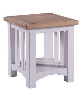 Classic Furniture Alders painted lamp table