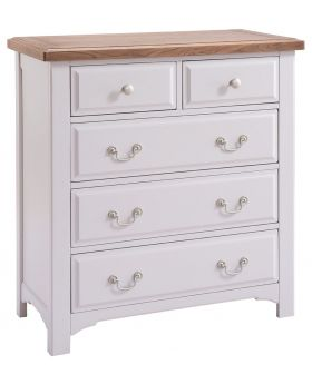 Classic Furniture Alders painted 2 over 3 chest of drawers