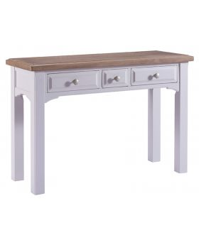 Classic Furniture Alders painted 3 drawer dressing table