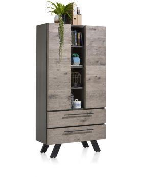 Habufa Vinovo Storage Cabinet with LED Lights