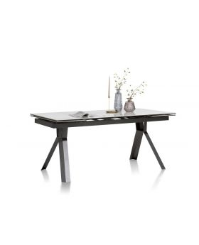 Habufa Glasgow Extending Marble Dining Table