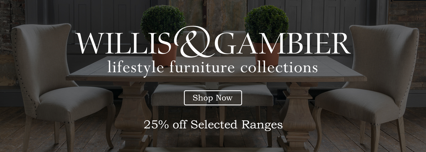 Michael O'Connor Furniture home of top  furniture brands like Willis and Gambier, ALF Italia, Bentley Designs and more at the best price online