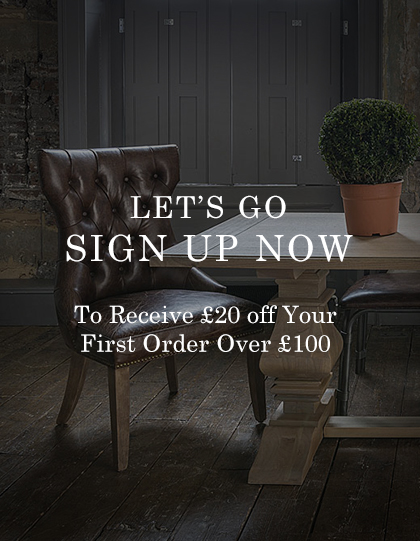 Newsletter - Signup To Receive £20 off Your First Order Over £100