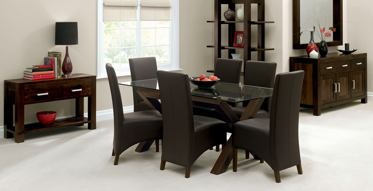bentley designs lyon walnut living and dining room furniture